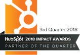 HubSpot Impact Awards - Q3 2018