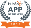 HubSpot App of the Year 2012